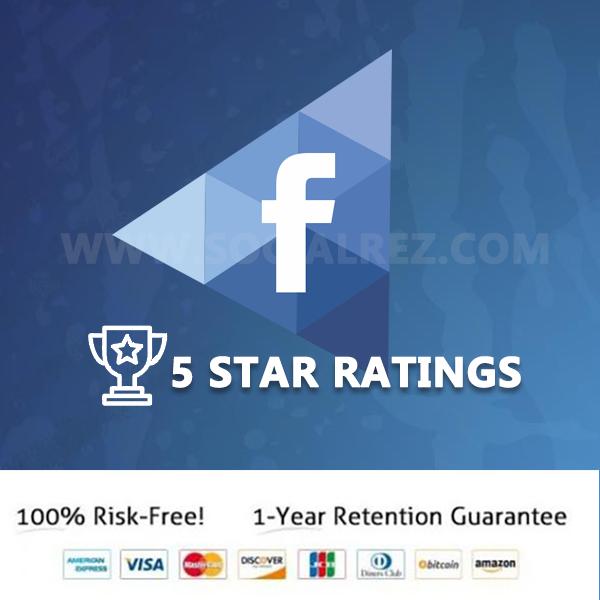 Buy Facebook Fan Page 5 Star Ratings Reviews