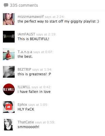 SoundCloud Comments
