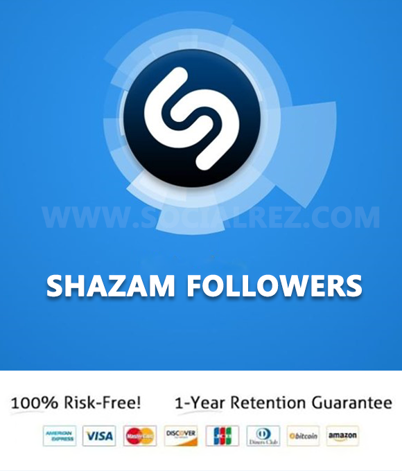 Buy Shazam Followers