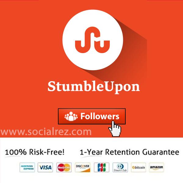 buy stumbleupon Followers