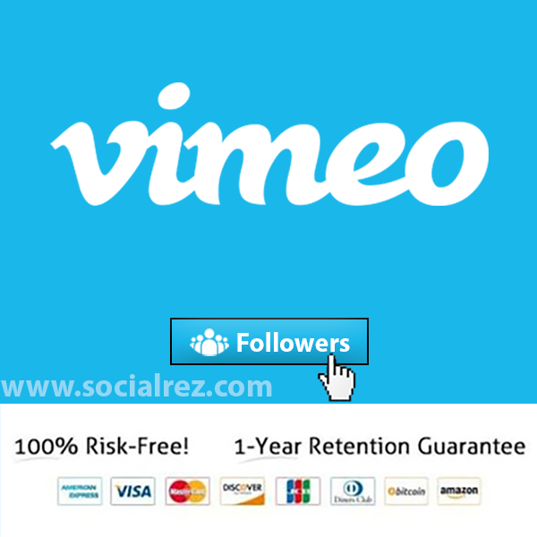 Buy Vimeo Followers