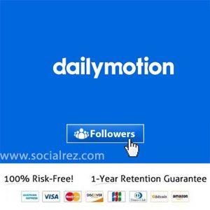 Buy Dailymotion Followers